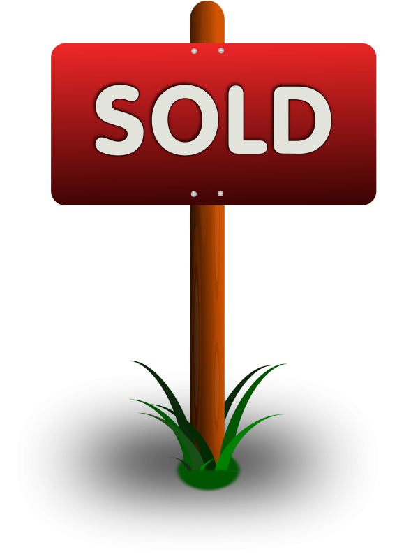 Free Clipart: Sold Sign | gsagri04