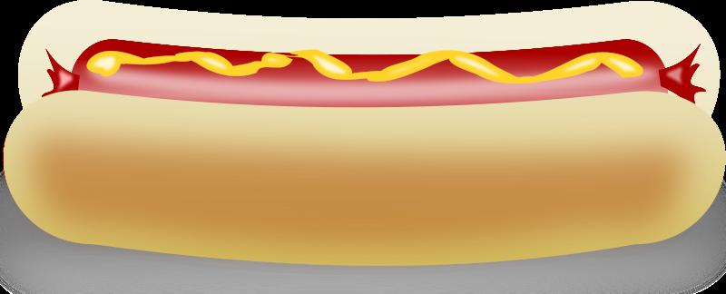 Free Clipart: Hot Dog | studio_hades