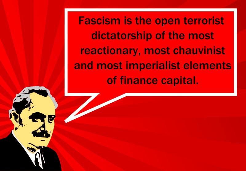 Free Georgi Dimitrov's definition of fascism
