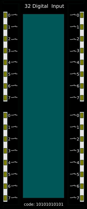 Free PLC 32 Digital Input