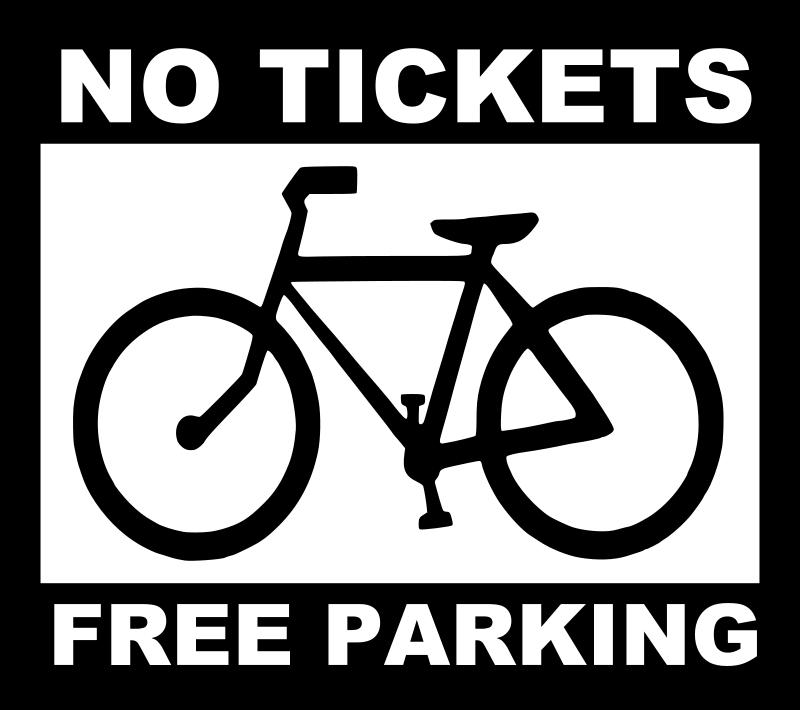Free bike - no tickets, free parking
