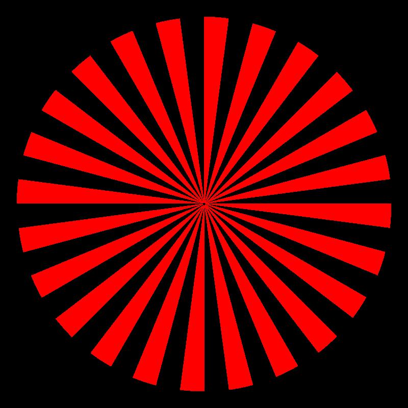 Free abstract sun 3 (48 rays)