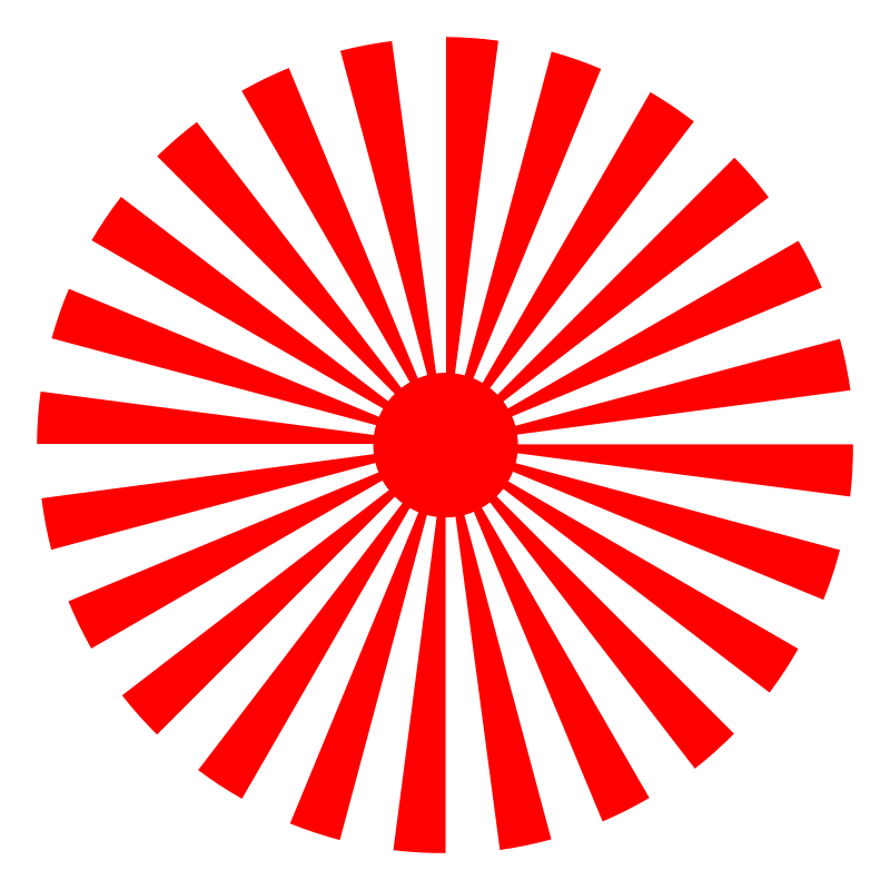 Free abstract sun 4 (48 rays)