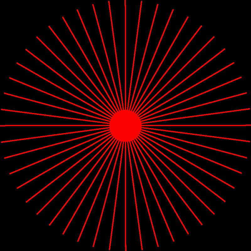 Free abstract sun 2 (48 rays)