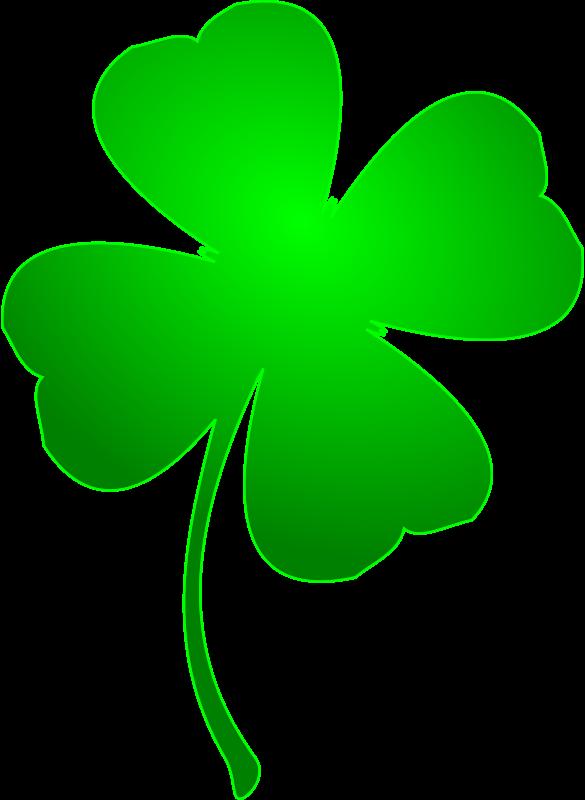 Free Clipart: Irish Lucky Clover | arcdroid