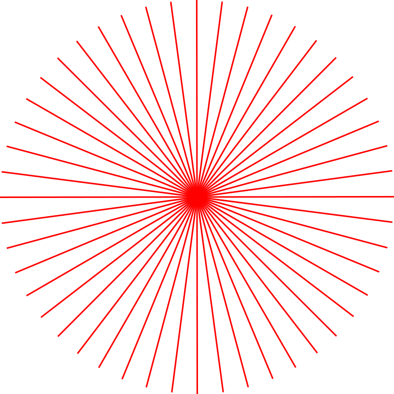 Free abstract sun 1 (48 rays)