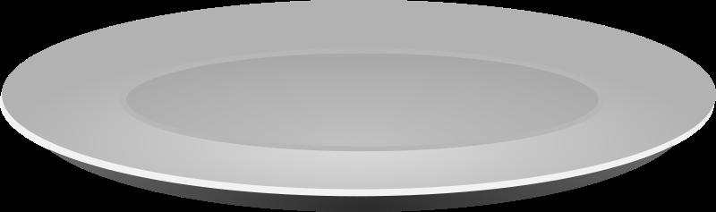 Free Plain Grey Plate