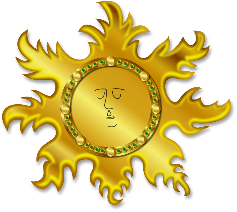 Free Clipart: The Sun | Merlin2525