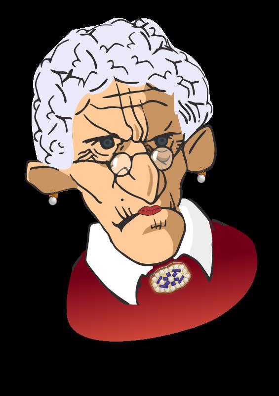 Free Wrinkled woman