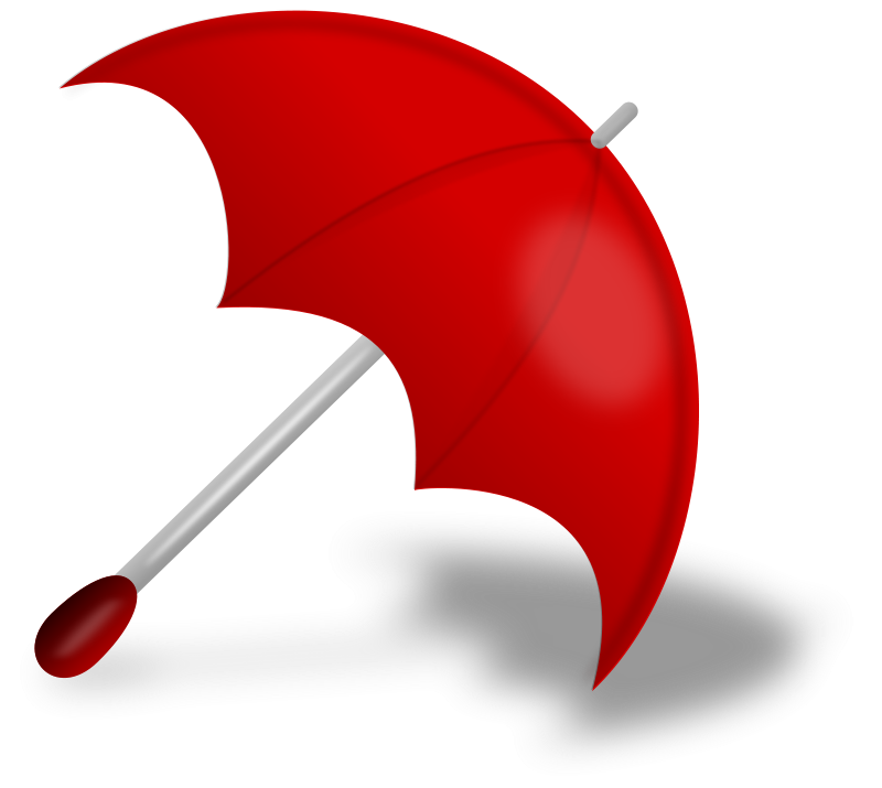 Free Umbrella (Red)