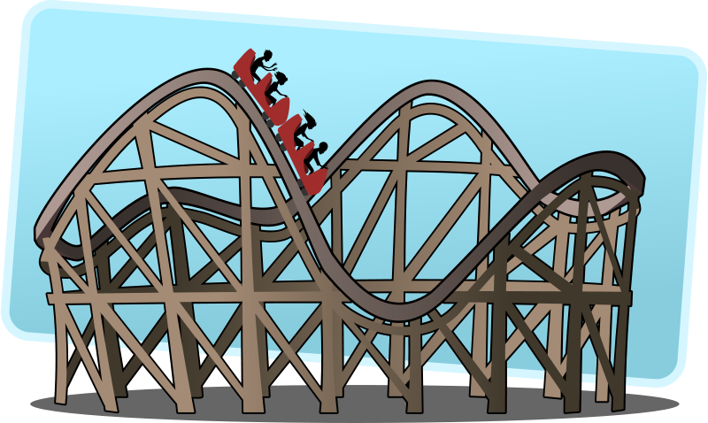 free clipart roller coaster tzunghaor rh 1001freedownloads com roller coaster clipart black and white roller coaster clipart png