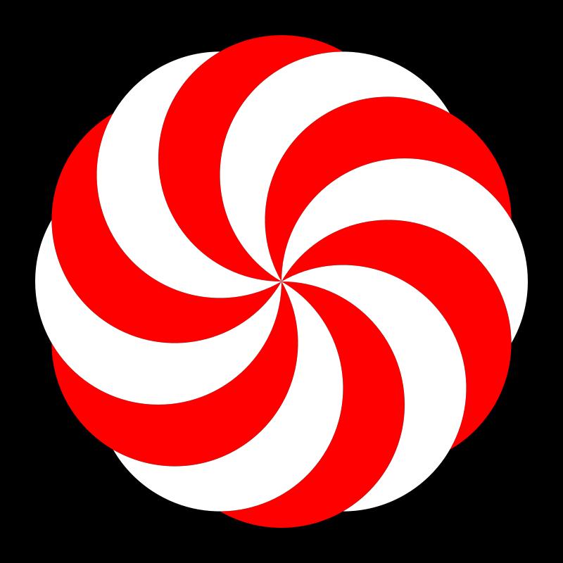 Free hexagon peppermint