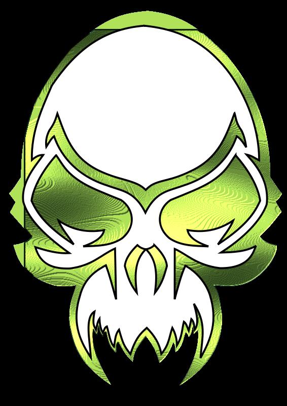 Free Metalic Skull