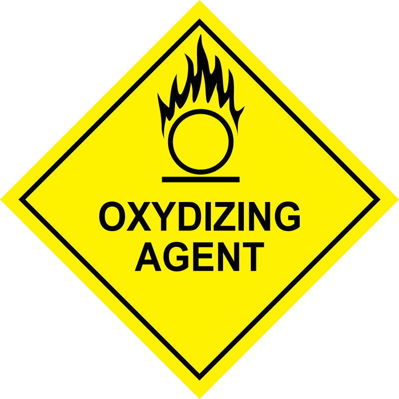 Free Oxidizing Agent Sign
