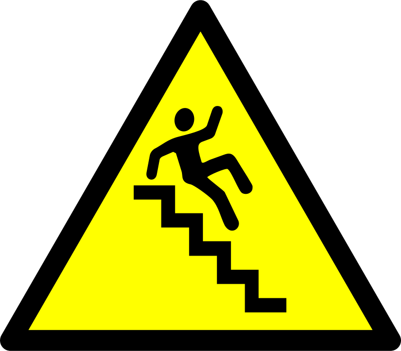 Free Caution - Stairs!