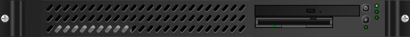 Free Black 1U Mini-server
