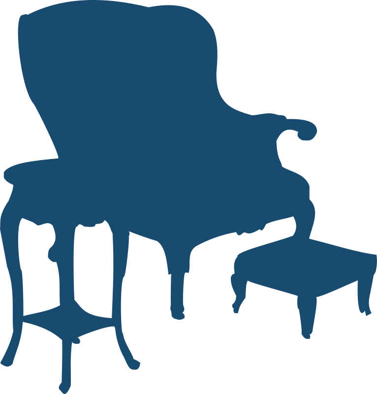 Free Clipart: Armchair and table | Moini