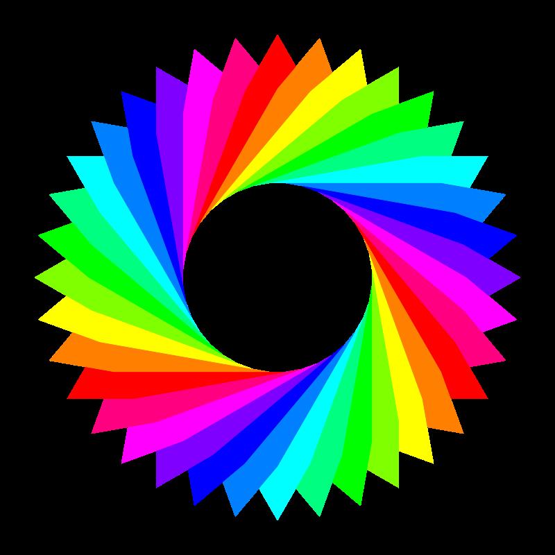 Free 12 color 36gram triangles