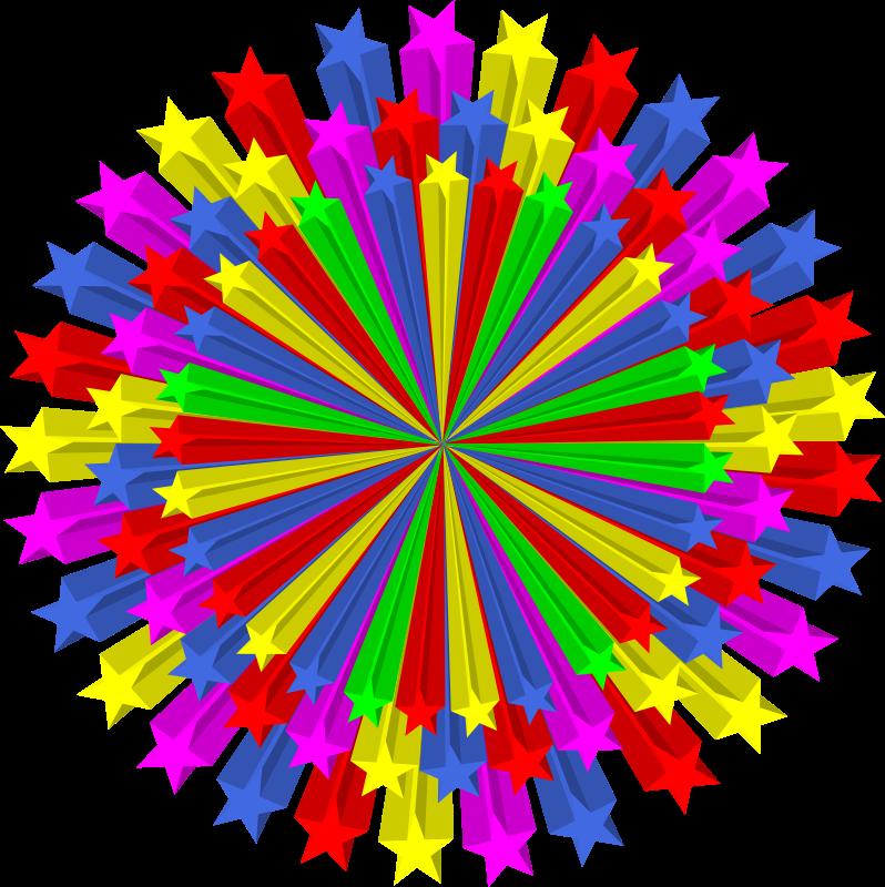 Free star circle