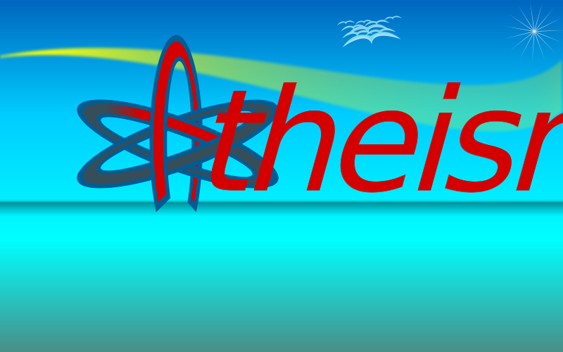 Free Atom Of Atheism Wallpaper 10by16