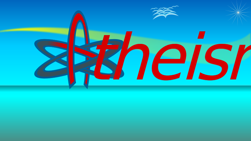 Free Atom Of Atheism Wallpaper 9by16