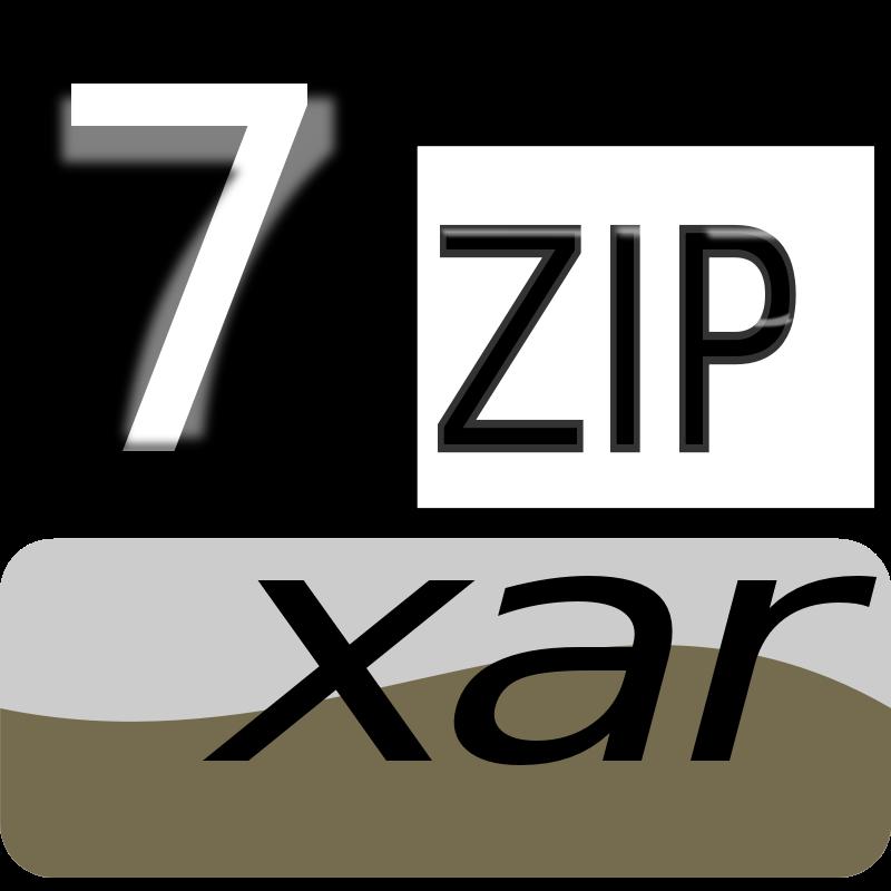 Free Clipart: 7zip Classic xar | kg
