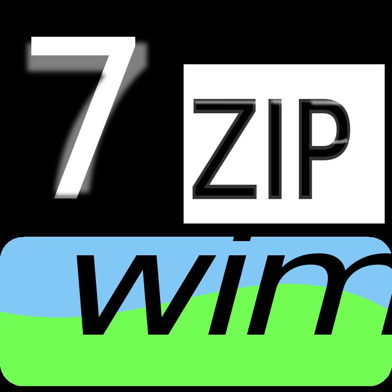 Free Clipart: 7zipClassic-wim | kg