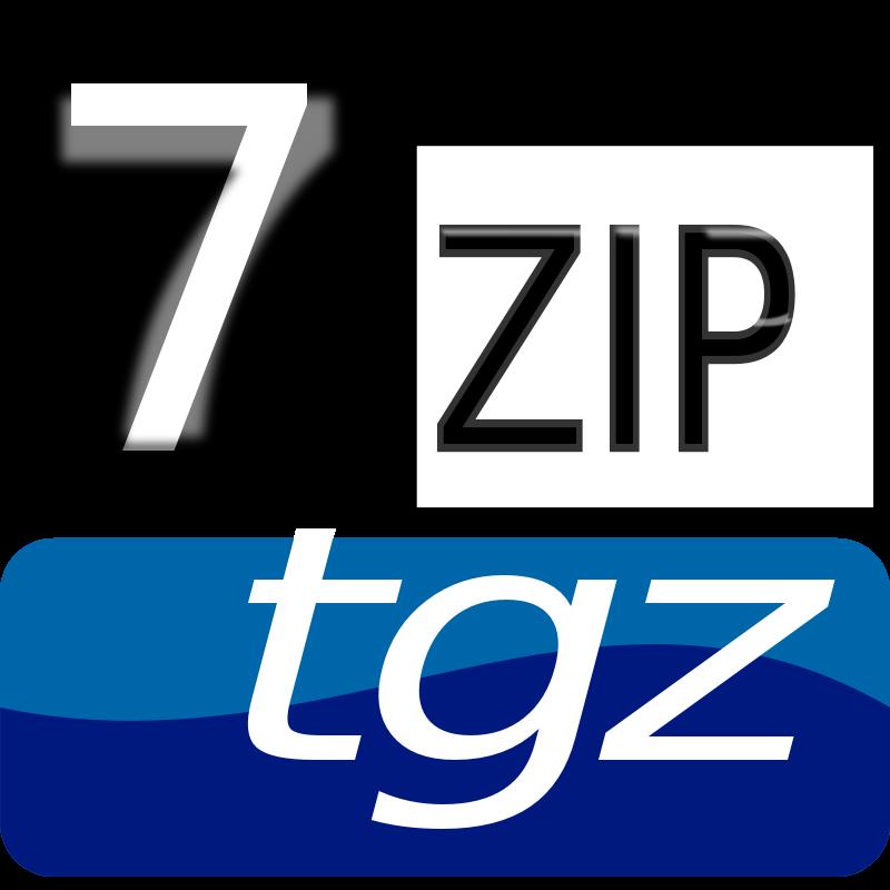 Free Clipart: 7zipClassic-tgz | kg