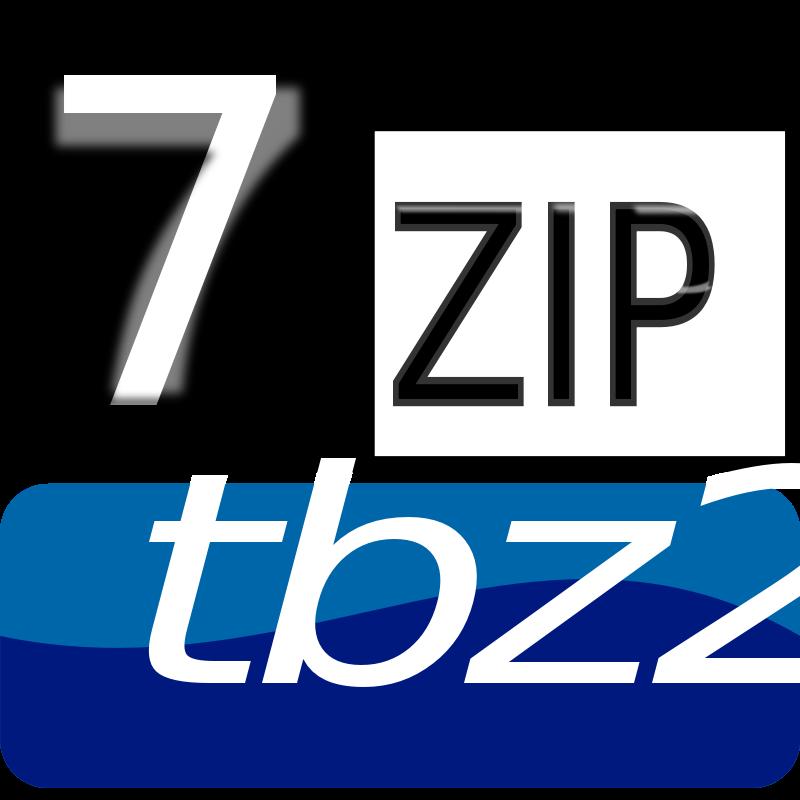 Free Clipart: 7zipClassic-tbz2 | kg