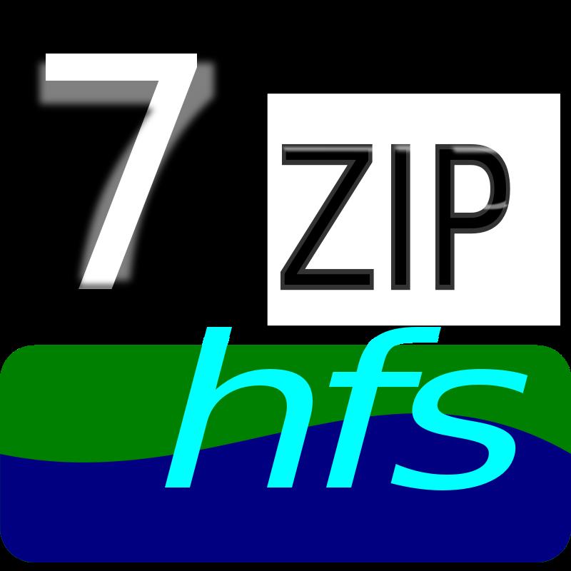 Free Clipart: 7zipClassic-hfs | kg