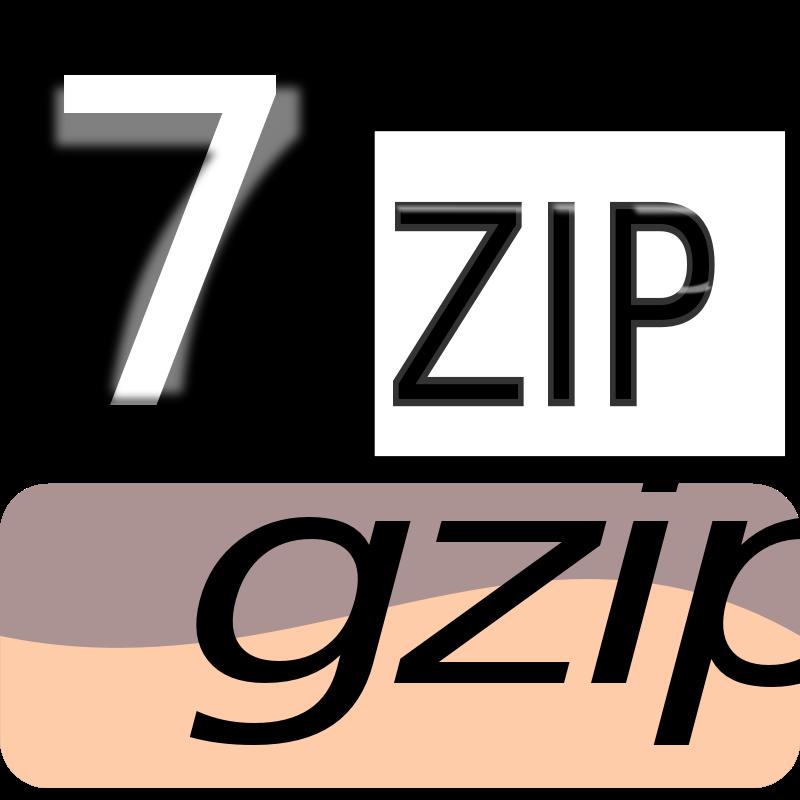 Free Clipart: 7zipClassic-gzip | kg