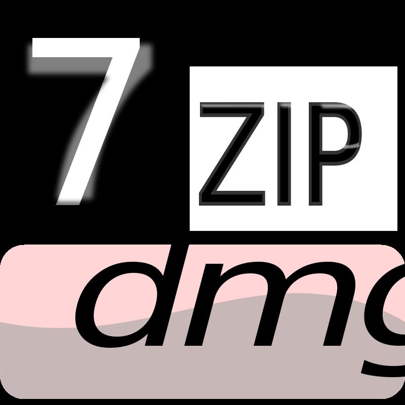 Free Clipart: 7zipClassic-dmg | kg