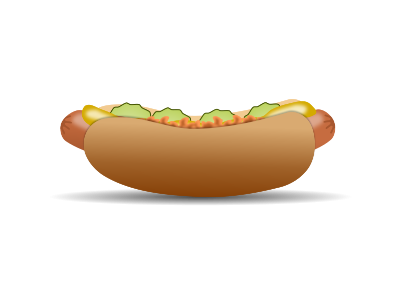 Free Clipart: Hot Dog | gnokii