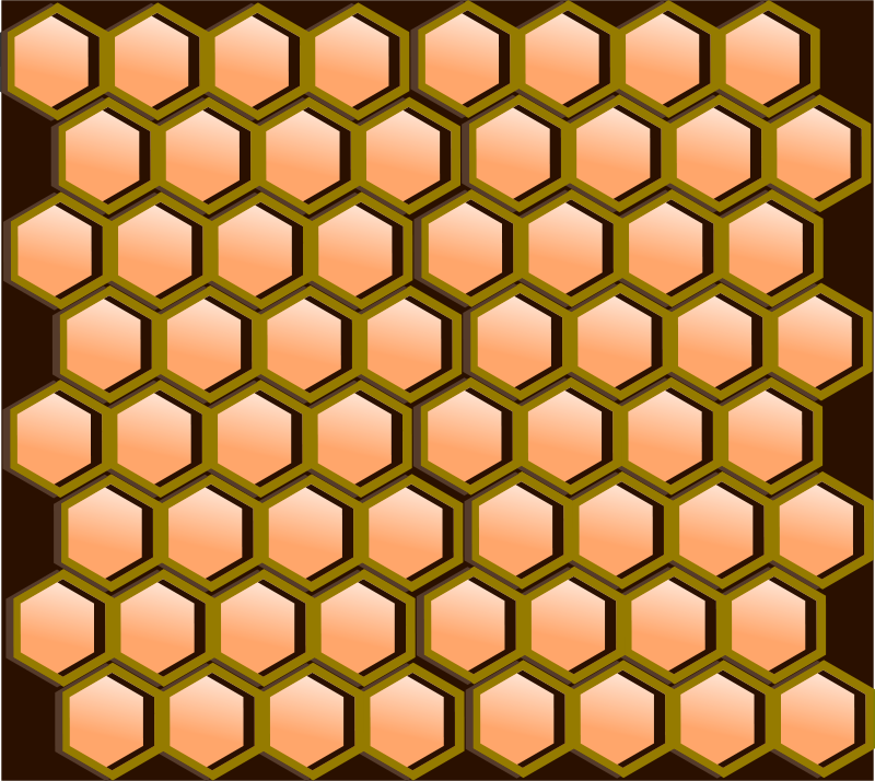 Free Honeycomb Cells