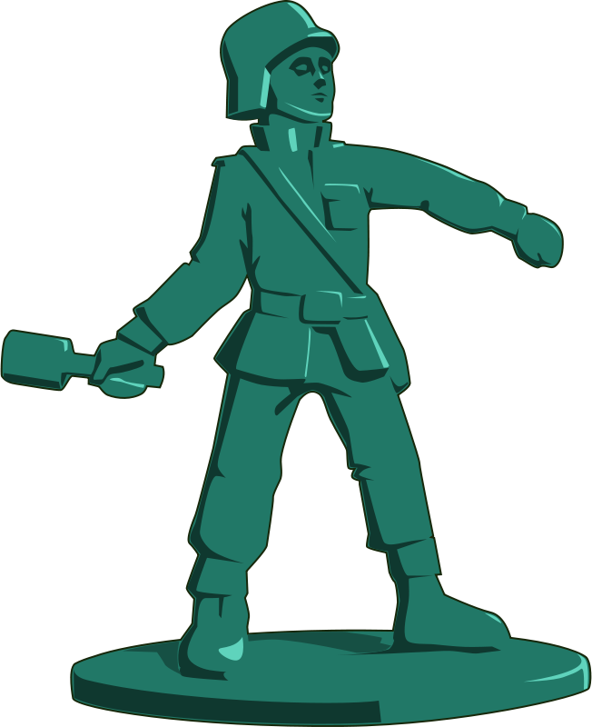 Free toy soldier