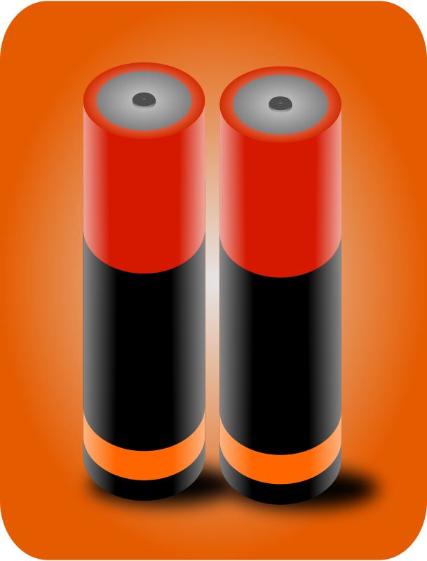 Free Clipart: Battery Cells | gsagri04