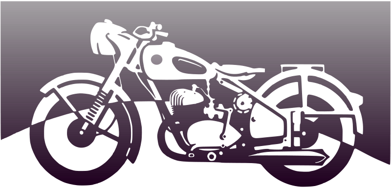 Free Motorbike of the 1950ies