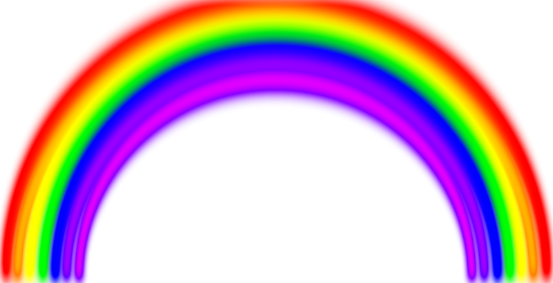 Free Simple Rainbow with Blur