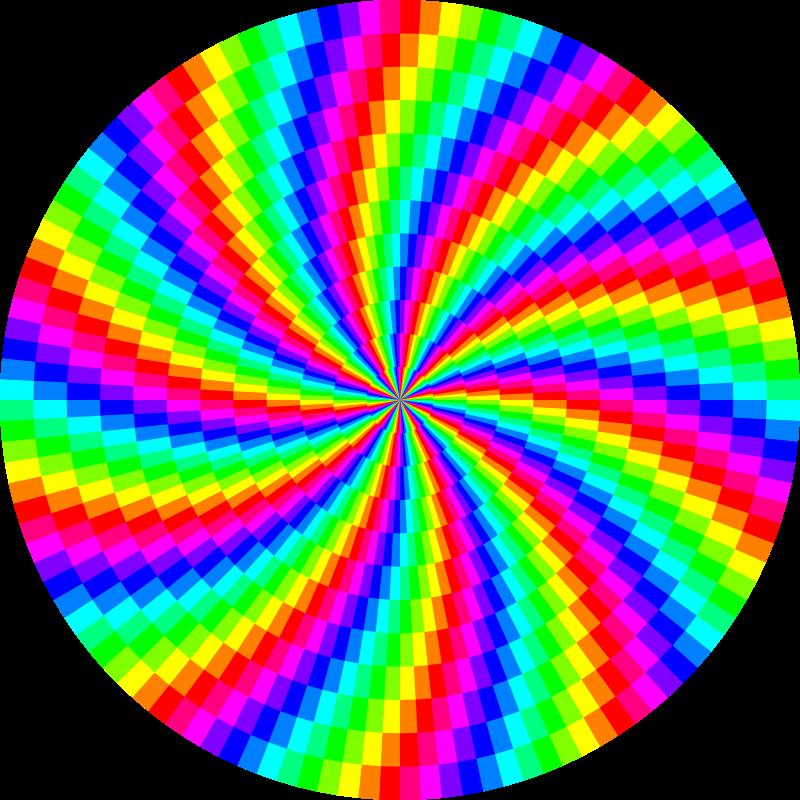 Free rainbow swirl 120gon