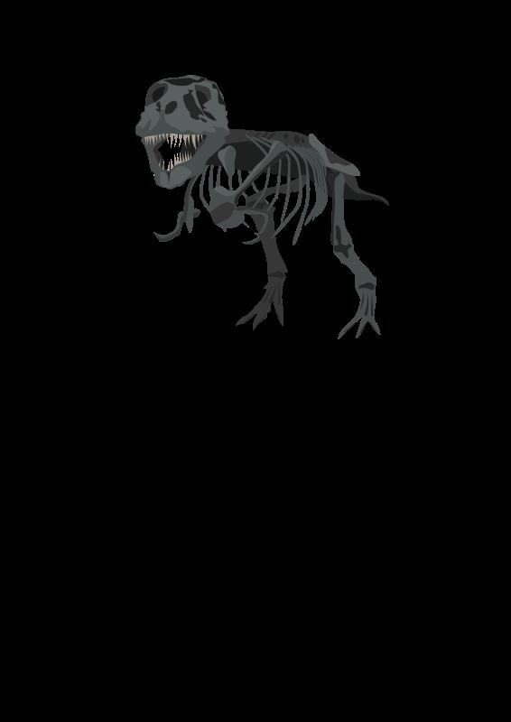 Free T-Rex Skeleton