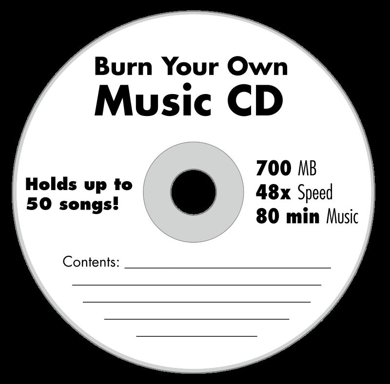 Free Blank Music CD