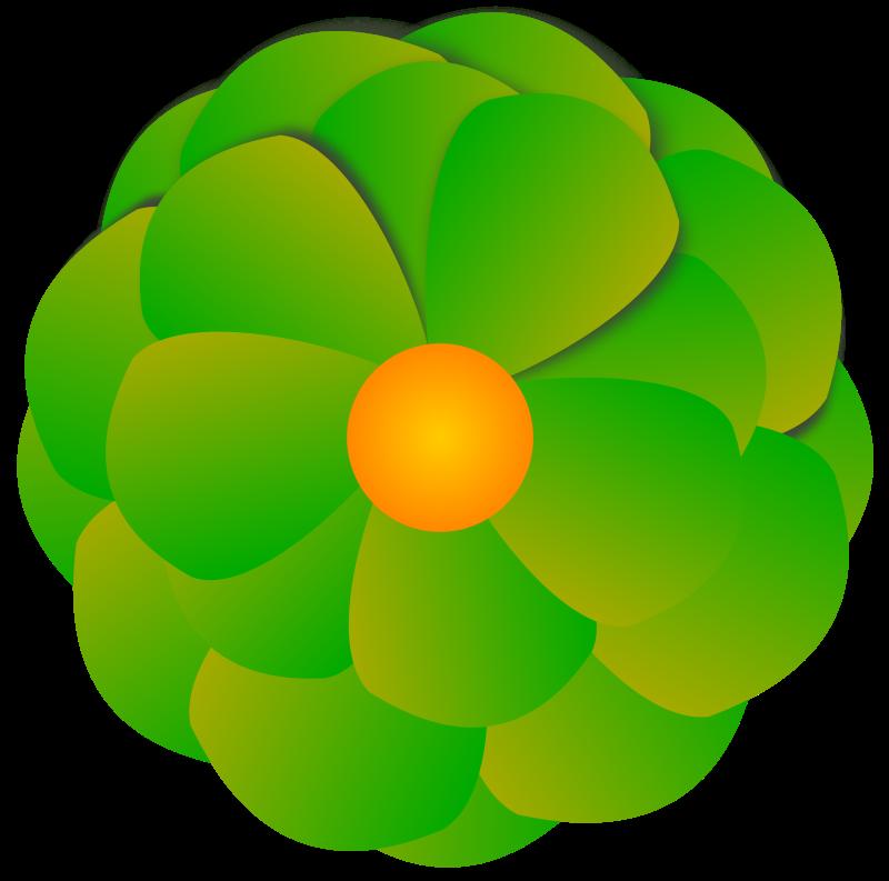 Free angolo aureo fiore