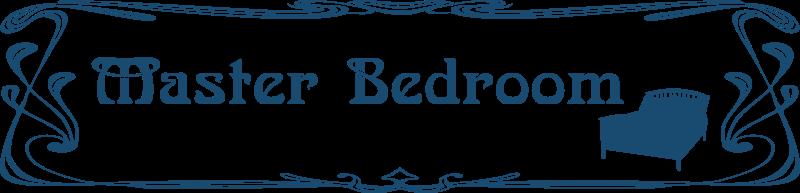 Free Bedroom door sign