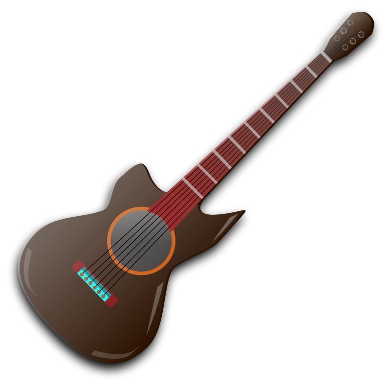 Free Wooden Guitar