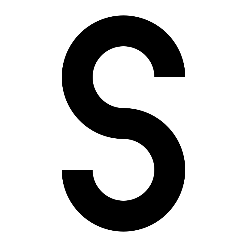 Free letter S
