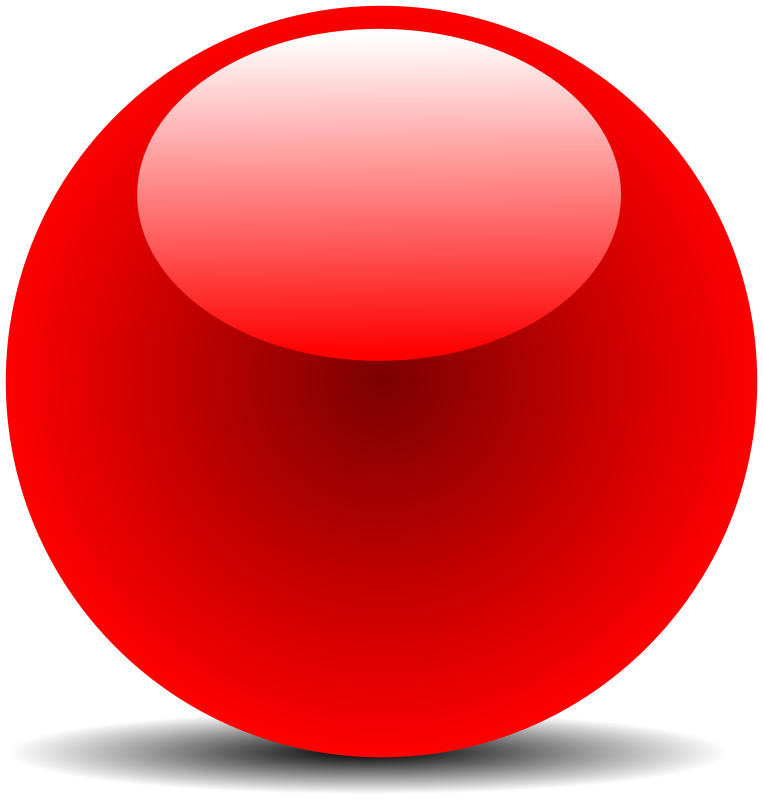 Free Red Chrome Button