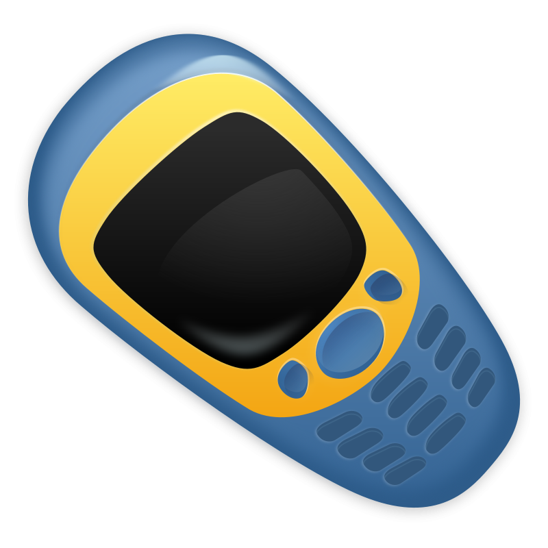 Free retro cellphone