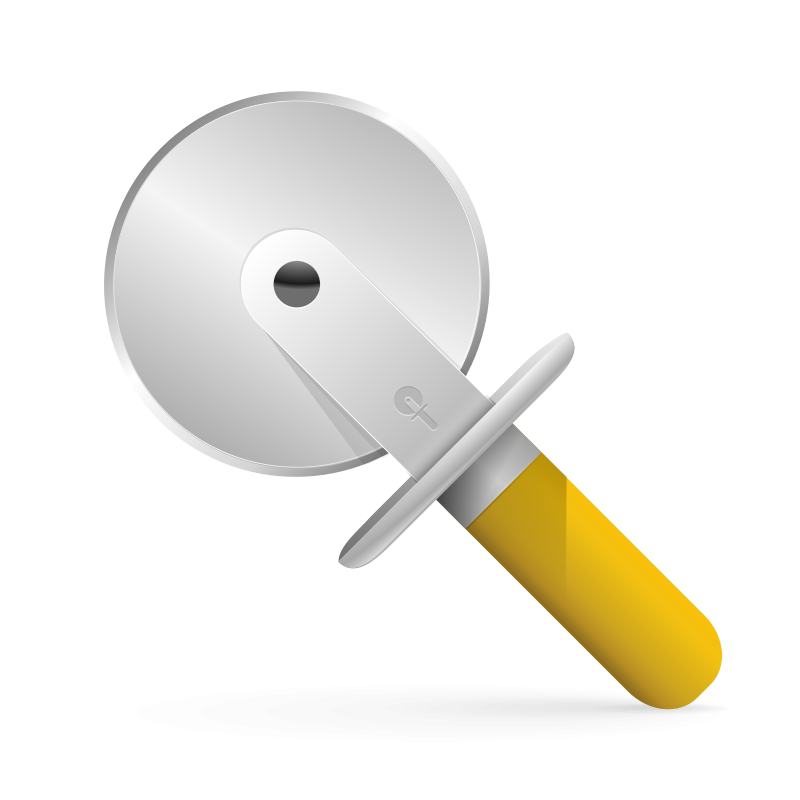 Free pizza cutter icon