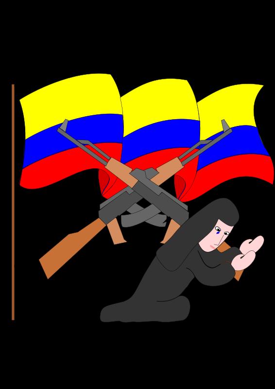 Free bandera colombiana