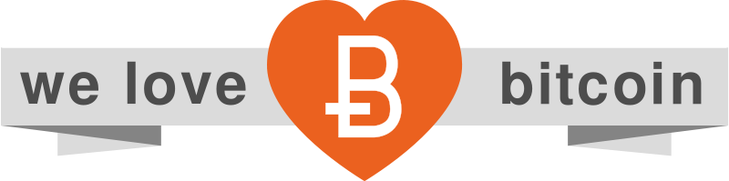 Free ribbonWeLoveBitcoin